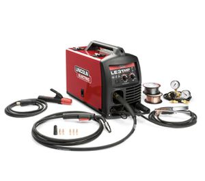 Lincoln Electric 140 Amp LE31MP Multi-Process Stick/MIG/TIG Welder with Magnum Pro 100L Gun, MIG and Flux-Cored Wire, Single Phase, 120V for Sale in Snoqualmie, WA