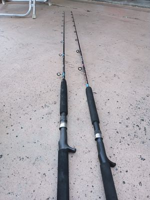 Jigging rods conventional...read description for Sale in Pembroke Pines, FL