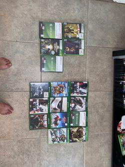 Xbox 1 & Xbox 360 games for Sale in Alpine,  CA