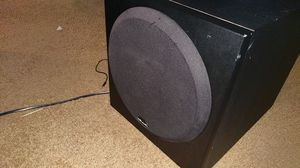 Moving Sale: Polk Audio Sub (Monster) used for entertainment system. $50 can't found this for low for Sale in Philadelphia, PA