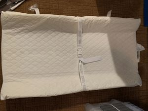 Pottery barn changing pad and Harper changing table diaper storage runner for Sale in Tacoma, WA