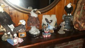 American Bald Eagle statue collection for Sale in Menifee, CA