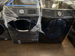 SAMSUNG POWER FOAM FRONT LOAD WASHER AND DRYER SET for Sale in Los Angeles, CA