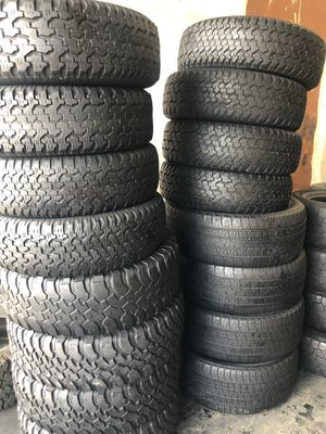 All terrain Tires sets for Sale in Houston, TX