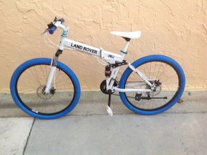 BICYCLE LAND ROVER FOLDING 21 SPEED EXCELLENT CONDITION for Sale in Miami, FL