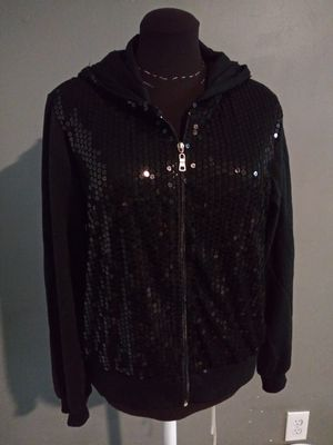 ***WOMEN'S 1X BLACK SPARKLE HOODIE!*** for Sale in Dallas, TX