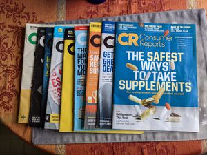 Consumer Reports magazines for Sale in Berlin, CT