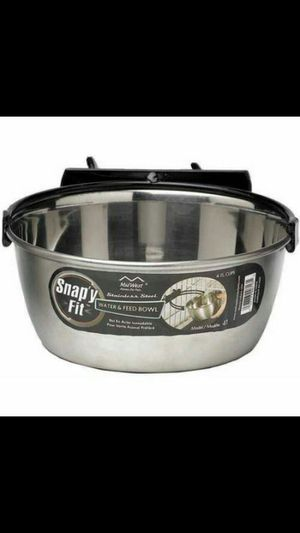 Midwest 1 Quart Snap'y Fit Stainless Steel Bowl for Sale in Poway, CA