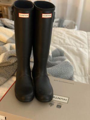 Hunter Rain Boots size 8 for Sale in Hiram, GA