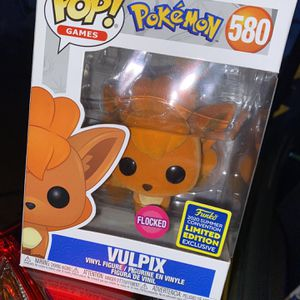Funko Pop! Pokemon: Vulpix (FLOCKED) for Sale in Los Angeles, CA