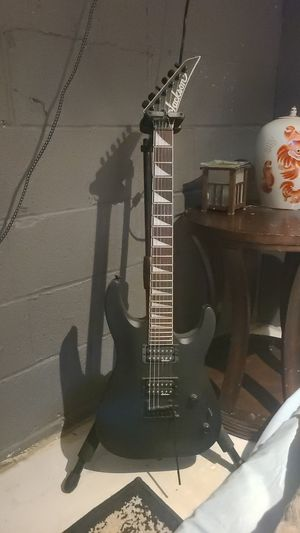 Jackson electric guitar stand and 2 guitar effect plug-ins for Sale in Fremont, OH