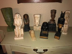 Collection of Egyptian statues for Sale in Denver, CO