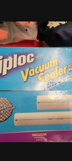 Ziplock Vacume Sealer Roll Refills for Sale in Hawthorne,  CA
