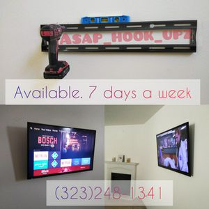 👀Tv wall Mounts. Installation included. 👷 for Sale in Gardena, CA