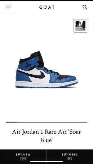 Retro Rare Air Jordan 1 Soar Blue for Sale in Tacoma, WA
