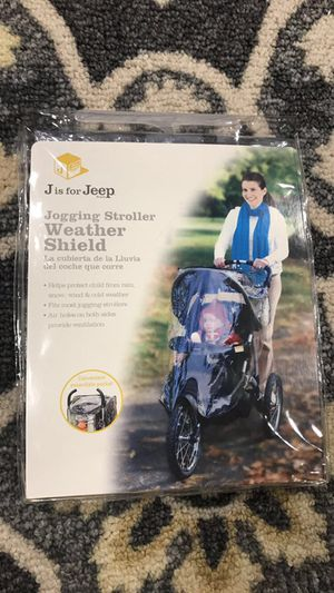 Jogging Stroller weather shield for Sale in Silver Spring, MD