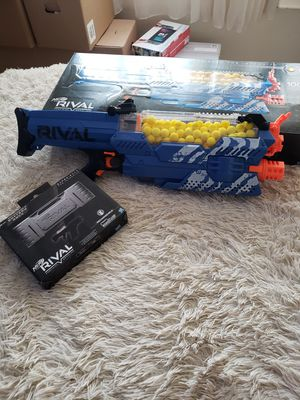 Nerf gun rival . Recharable battery. Sheild for Sale in Bronx, NY