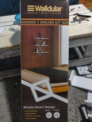 Wall shelves Brand New.. .open box for Sale in Chicago, IL
