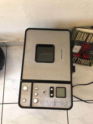 Cuisinart- Bread maker for Sale in Bay Harbor Islands, FL