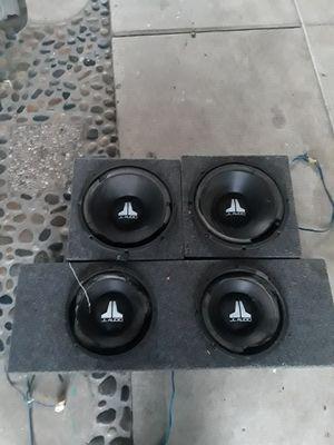 Jl audio w3 sub speakers for Sale in Vista, CA