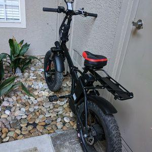 48 V 500 W Folding Fat Tire Electric Bike for Sale in Dana Point, CA