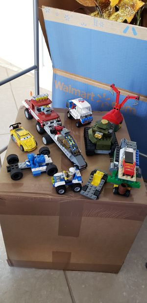 Lego Vehicles ( cars, truck, tank and others) $20 for All for Sale in Pembroke Pines, FL