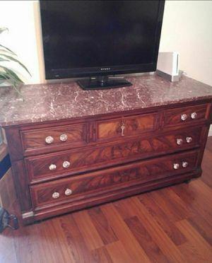 Gorgeous antique marble top dresser for Sale in Glendale, AZ
