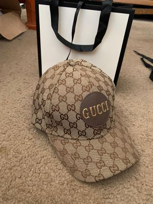 Gg brown monogram canvas hat for Sale in Milpitas, CA
