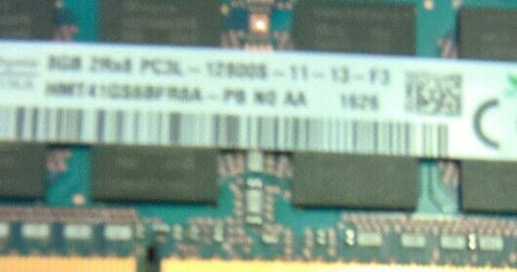 8GB (1x8GB) SK HYNIX PC3L-12800S DDR3L-1600 DDR3L (low voltage) 1600MHz Laptop RAM for Sale in Marysville,  WA
