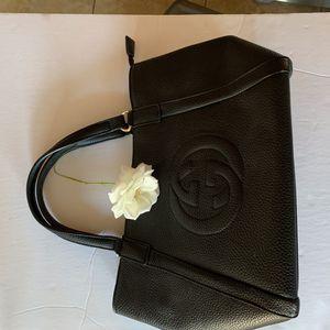 Gucciaa black lady bag. Almost new for Sale in Santa Clarita, CA