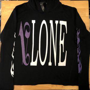 Vlone Palm Angels Hoodie Purple / Black - L for Sale in Parkersburg, WV