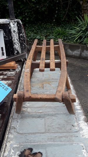 Antique wooden sled for Sale in Tacoma, WA