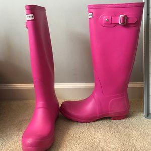 Hunter rain boots for Sale in Carrollton, TX