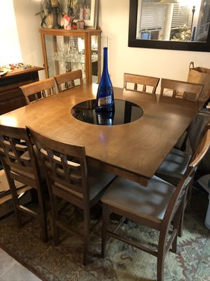 Table /kitchen/bar counter height with 8 chairs for Sale in Happy Valley, OR