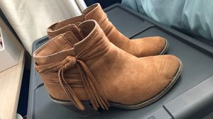 Fringe brown boots for Sale in Murrieta, CA