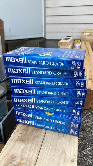 Maxell VHS for Sale in Kent, WA