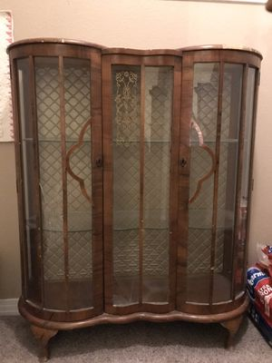 Authentic English Heirloom china cabinet for Sale in Colorado Springs, CO