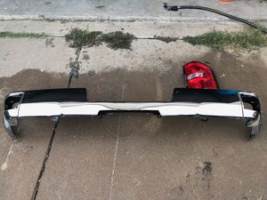 Rear chrome bumper for Sale in Irving, TX