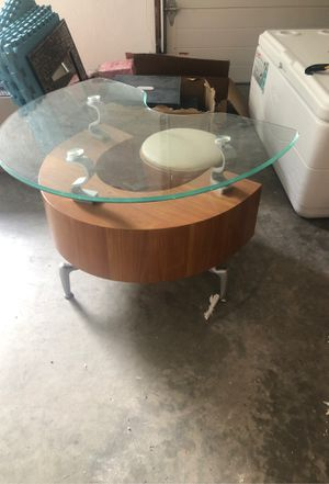 Glass top end table for Sale in Waltham, MA