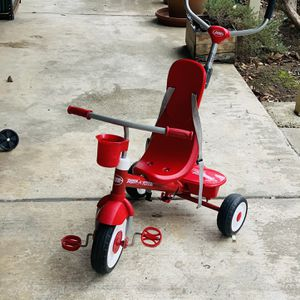 Radio Flyer, 4-in-1 Stroll 'n Trike, Grows with Child, Red for Sale in Sunnyvale, CA