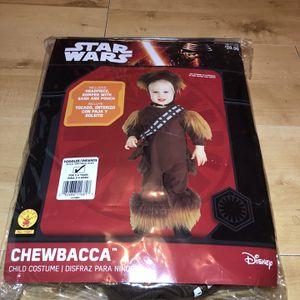 Toddler Star Wars Chewbacca Costume for Sale in Burrillville, RI
