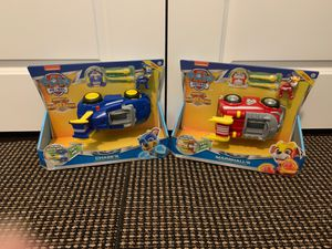 Two Paw Patrol Mighty Super Paws for Sale in Chapin, SC