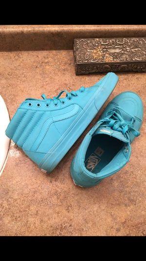 Men's Light Blue Vans - Size 9.5 for Sale in Rockville, MD