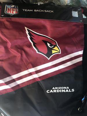 Arizona Cardinals Nfl bag backpack sack bag for Sale in Paramount, CA