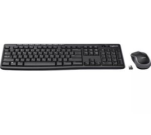 Logitech Combo MK270 Wireless Keyboard & Mouse Black (920-004536) 57256 NEW! for Sale in Castro Valley, CA