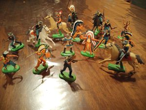Britain's LTD 1971 toy soldiers collection of 15 great condition for Sale in Dallas, TX