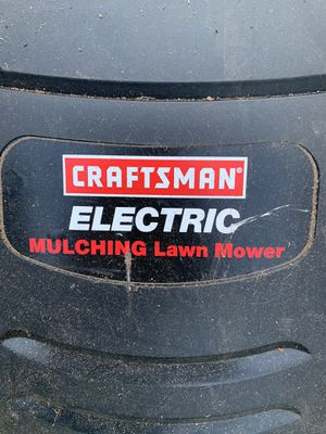 Craftsman Electric Lawn mower 19 in 120 V for Sale in Kenmore, WA