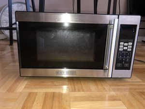 Microwave Black and Decker for Sale in HOFFMAN EST, IL
