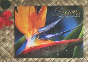 Hawaiian Flowers 2020 12 Month Wall Calendar Hawaii Islands Aloha Leis Hibiscus for Sale in Kailua-Kona, HI