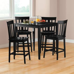 Mainstays 5-Piece Mission Counter-Height Dining Set 4c for Sale in Norcross, GA